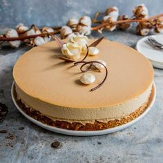 Dessert Recipes, Desserts, Vanilla Cake, Chocolate Cake, Food And Drink, Gluten, Birthday Cake, Baking, Caramel