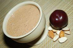 plum almond soup