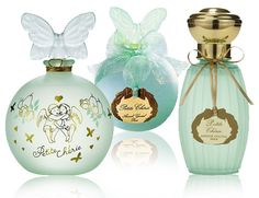 Annick Goutal Petit Cherie Parfum.  An all time FAVORITE and my wedding scent:)