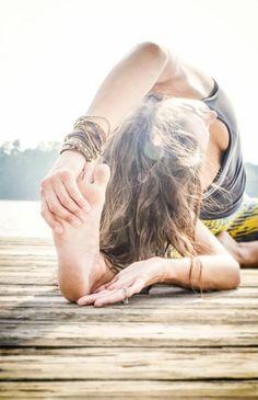 yoga bienfaits, faire du yoga