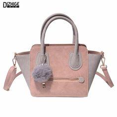 2016 frühling Smiley Pu-leder-einkaufstasche Frauen Trapeze Mode Designer-handtaschen Hochwertige Damen Vintage Umhängetaschen Taschen