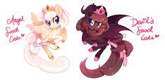 MLP Adoptable Auction - Cake Ponies 2 (OPEN!) by tsurime.deviantart.com on @DeviantArt