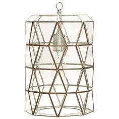 Worlds Away Mariah Pendant  - vintage, elegant yet geometric