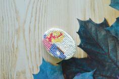 #embroidery #handmade #crafts #needlework  #patch #crossstitch #вышивка #микровышивка #украшения #аксессуары #ручнаяработа #брошь #handembroidery #stitches #design #fashion #лето #summer