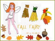 Finished Fall Fairy Paperdoll