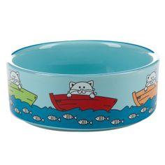 Whisker City® Fishing Cat Bowl   Food & Water Bowls   PetSmart $6.99
