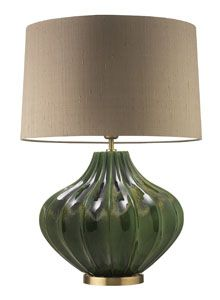 Mallory Green Table Lamp - Heathfield & Co