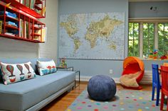 How to create a fun room for kids to learn and grow in!