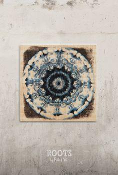Nuevas creaciones te esperan en nuestra tienda de #etsy: Cymatic - Blue psychedelic vibration // Transfer on wood http://etsy.me/2Ceryxe #articulosdelhogar #decoraciondelhogar #decoraciondepared #transfer #handmade #vintagedecoration #cymatic #cymaticsvibrations #artof