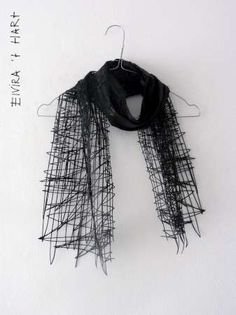 Elvira 't Hart 'Drawn Scarf' 2012