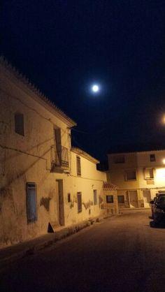 Superluna desde la tranquilidad.