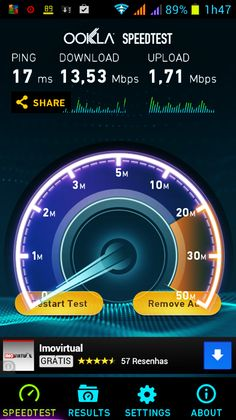 Speedtest para Android | alien's & android's technologies