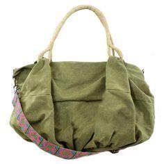 Canvas Hobo Bag