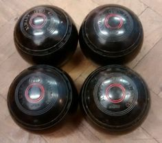 Set of 4 matching #almark lawn bowling #bowls  - #clubmaster 5 heavy ,  View more on the LINK: http://www.zeppy.io/product/gb/2/262266005305/