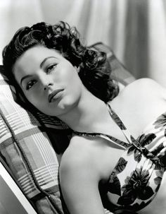 Ava Gardner. My god. She was married to Frank Sinatra. That is all.