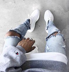 "Featuring Adidas Yeezy Boost 350 V2 ""White/Cream White."" 29/4/17."