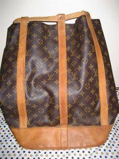 Authentic Louis Vuitton Randonee GM Backpack Monogram Canvas NO RESERVE!! Designer Purses, Monogram Canvas, My Bags, Authentic Louis Vuitton, Louis Vuitton Monogram, Backpacks, Pattern, Ebay, Monogram Frame