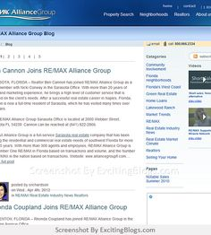 RE/MAX Alliance Group Florida Real Estate Blog - Click to visit blog:  http://1.33x.us/Hznm8A