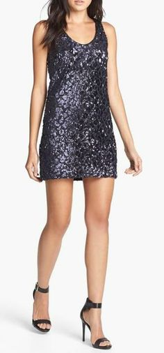 Dance the night away in this gorgeous sequin dress