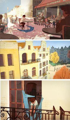 In-between: animação de estudantes da Gobelins