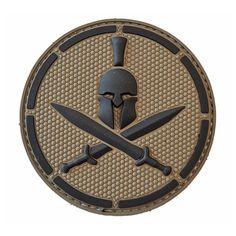Spartan Helmet - Parche de Goma/PVC