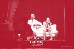 #FTNL02016 Durante un juicio Antígona Creonte Ismene y Hemón se verán forzados a enfrentar sus propias interpretaciones de la justicia! Teatro de la Ciudad | Agosto 3 #Agosto2016 #EstoEsCONARTE