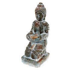 Privilege International Sitting Buddha Sculpture - 66565