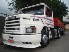 old Scania 113H  360 in Brazil