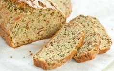 Bacon Bread // Savory and delicious and perfect for fall... Great for entertaining as well. Slather with butter!