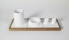 Mico - Ceramic Desk Organizer on Behance