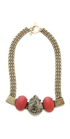 Citrine by the Stones Toltec Necklace    $375.00