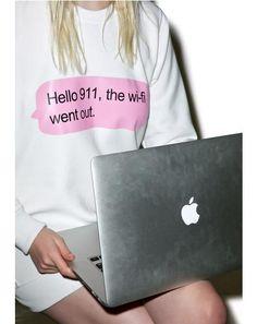 Hello Sweatshirt