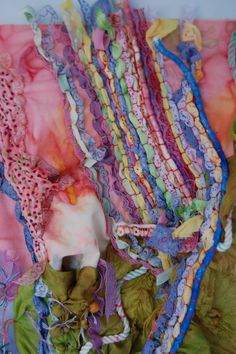 Textiles Home Deco textile art techniques Textiles Fabric Manipulation Techniques, Textiles Techniques, Embroidery Techniques, Art Techniques, Textiles Sketchbook, Fashion Sketchbook, A Level Textiles, Creative Textiles, Go For It