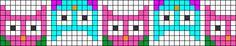 Alpha Friendship Bracelet Pattern #16855 - BraceletBook.com