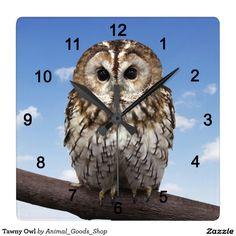 Tawny Owl クロック