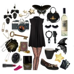 My style inspired by Witch Baby (Francesca Lia Block), created by sanasaurus on Polyvore