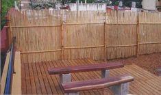 cerco bambu Bamboo Fence, Porch Ideas, Ideas Para, Repurposed, Decor Ideas, Creative, Interior, Home Decor, Gardens