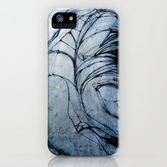 Going With The Flow: #Drawing b1 iPhone Case by FaernWalks - $35.00 #art #faern #mixedmedia