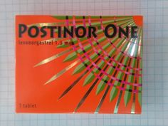 Postinor Emergency Contraceptive tabs 2x1.5mg Levonorgestrel. Same as Plan B #Postinor