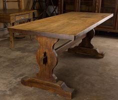 Antique Reclaimed Barn Wood Trestle Table By ValensFurniture | Decorating |  Pinterest | Reclaimed Barn Wood, Trestle Tables And Barn Wood