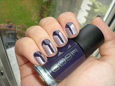 Gosh Deep Purple &  metallic lilac Technic Shade 32.
