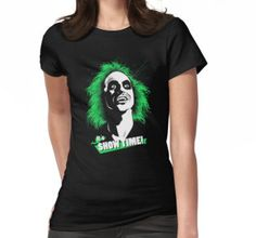 Beetlejuice quote movie in t-shirt for woman o man, and more cool design by MeFO in Redbubble.