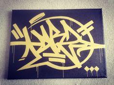 "171 Me gusta, 2 comentarios - DIBZ - FUA - IGK (@dibz1981) en Instagram: ""#dibz #canvas #speachbubble #tag #posca #gold #molotow #black #ink #picoftheday #shotoftheday…"""