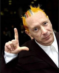 johnny rotten in colours