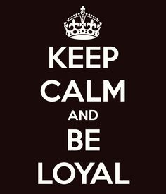 7. -Loyalty- You need to be Loyal in life especially in a relationship, because without trust in your partner you might as well not even have a relationship.