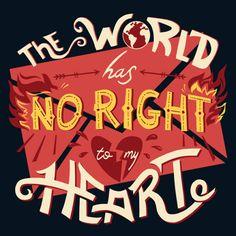 The world has no right to my heart I Hamilton: An American Musical Hamilton Quotes, Hamilton Fanart, Theatre Nerds, Musical Theatre, Theater, Hamilton Wallpaper, Hamilton Lin Manuel Miranda, Aaron Burr, Hamilton Musical