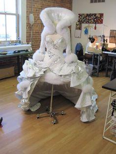 Mellie Stanley S Custom Wedding Dress By Sondra Celli