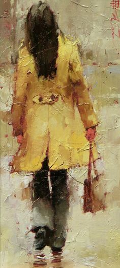 Une jolie découverte d'un jeune peintre russe André Kohn
