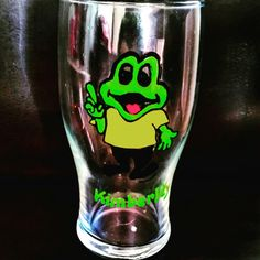 Personalised Freddo pint glass  www.facebook.com/KaylaMadeThis