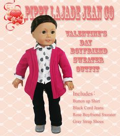 Hey, I found this really awesome Etsy listing at https://www.etsy.com/listing/217473684/american-girl-doll-clothes18in-doll